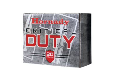 Hornady® Awarded FBI 9mm+P Service Ammunition Contract